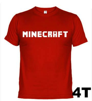 Camisetas Games Minecraft 159-4T